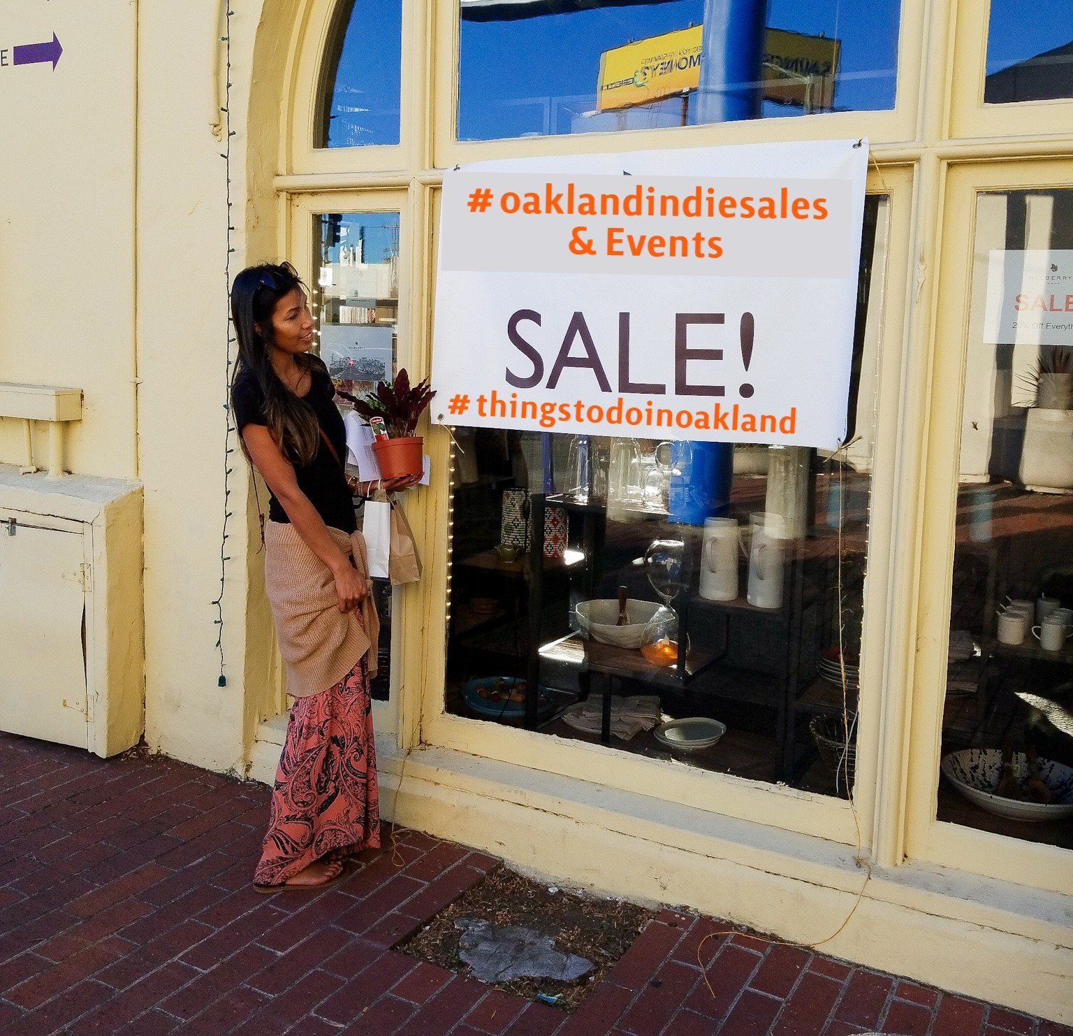 Oakland Indie Sales and Events