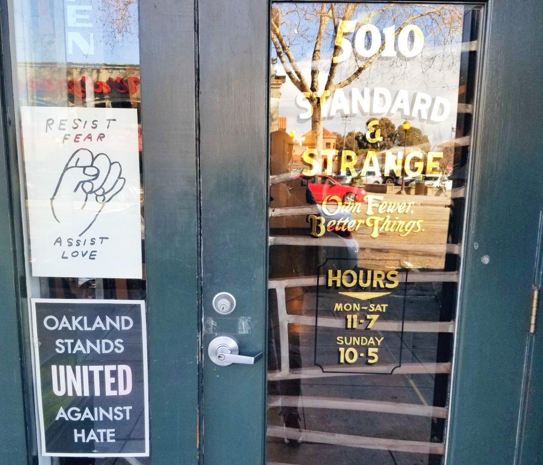 Standard And Strange Doorway