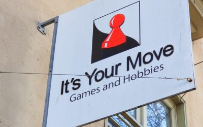 It's Your Move Games & Hobbies: A Second Home