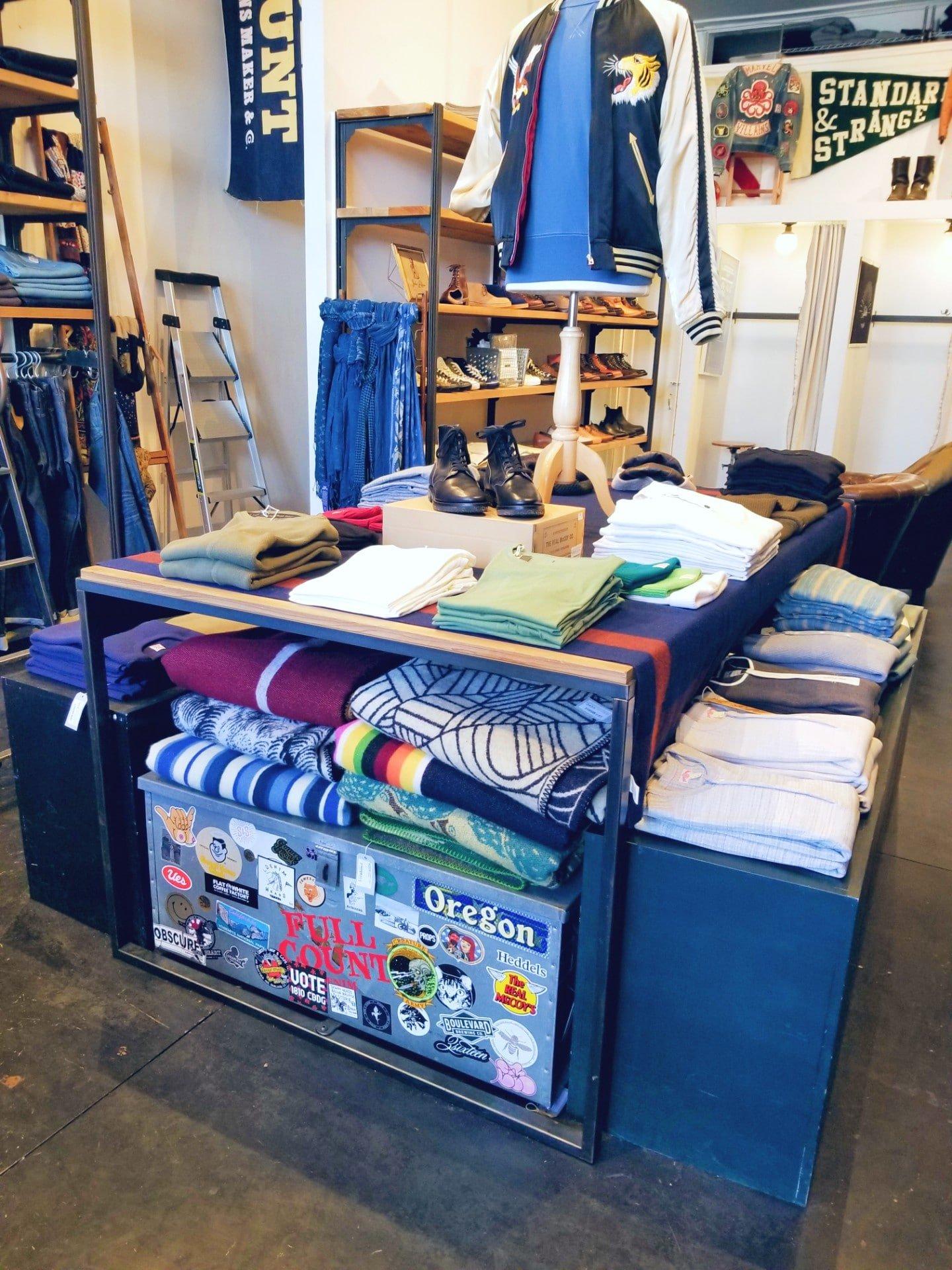 Standard & Strange Inside Temescal Shop