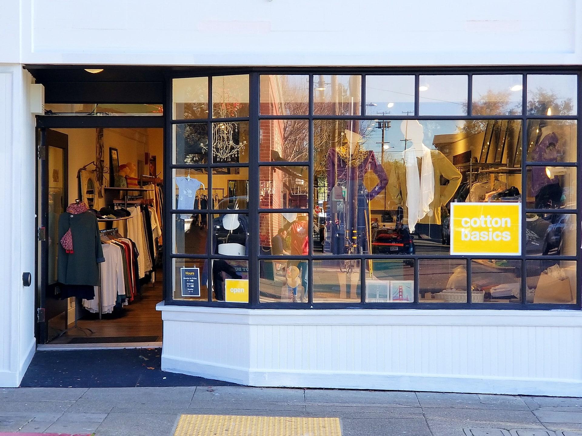 Cotton Basics on Piedmont Ave Oakland, CA