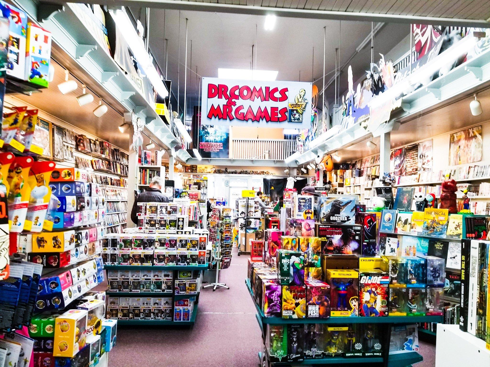 Dr Comics & Mr Games in Oakland CA