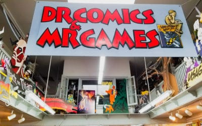 Dr Comics & Mr Games: A Shop Local Secret