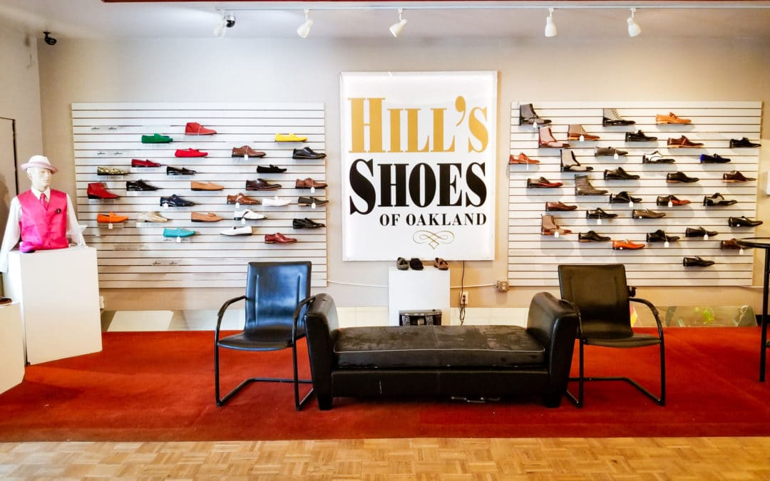 Hill's Shoes of Oakland is an Oakland Classic