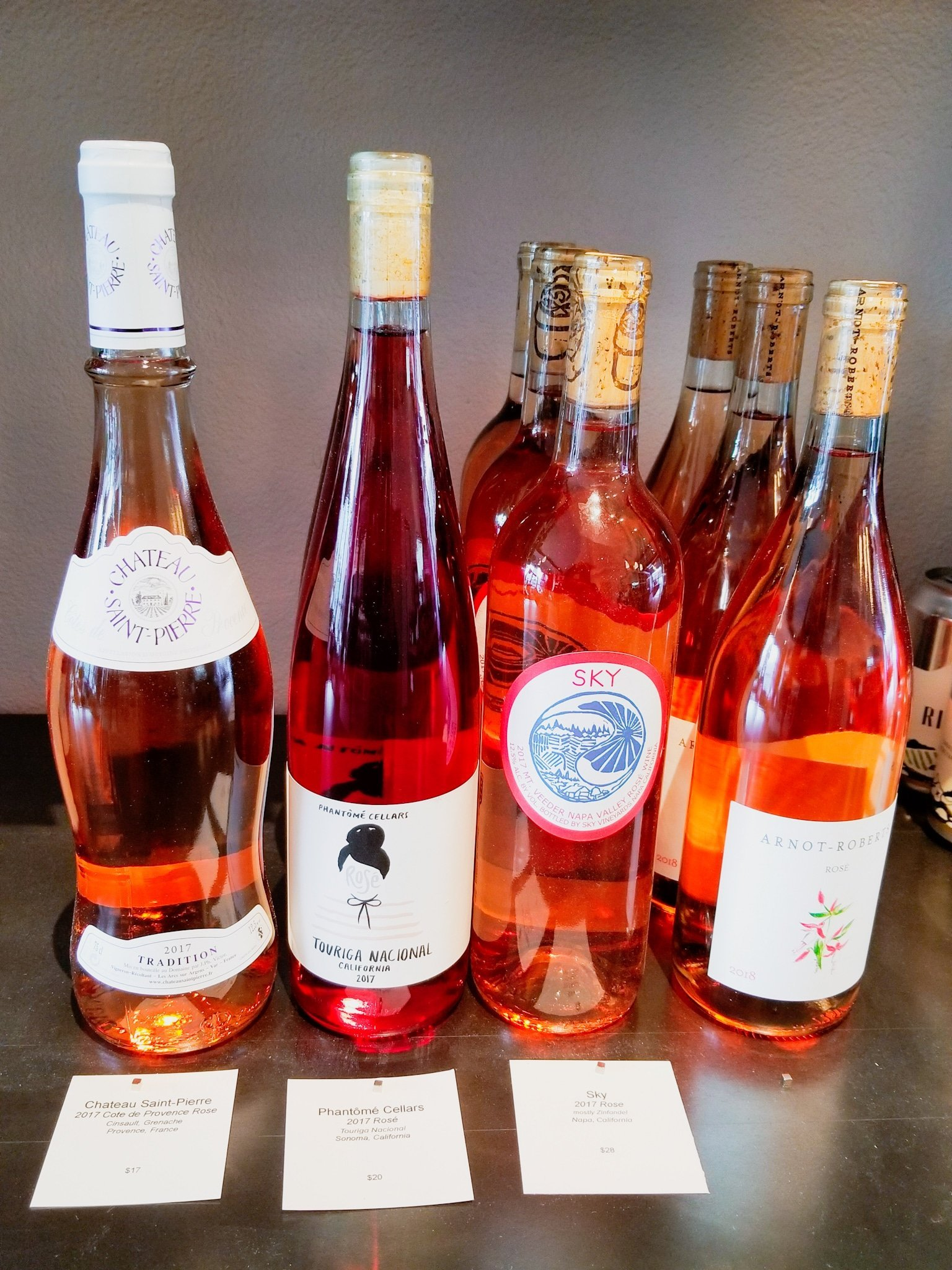 Oakland Yard Wine Shop Roses