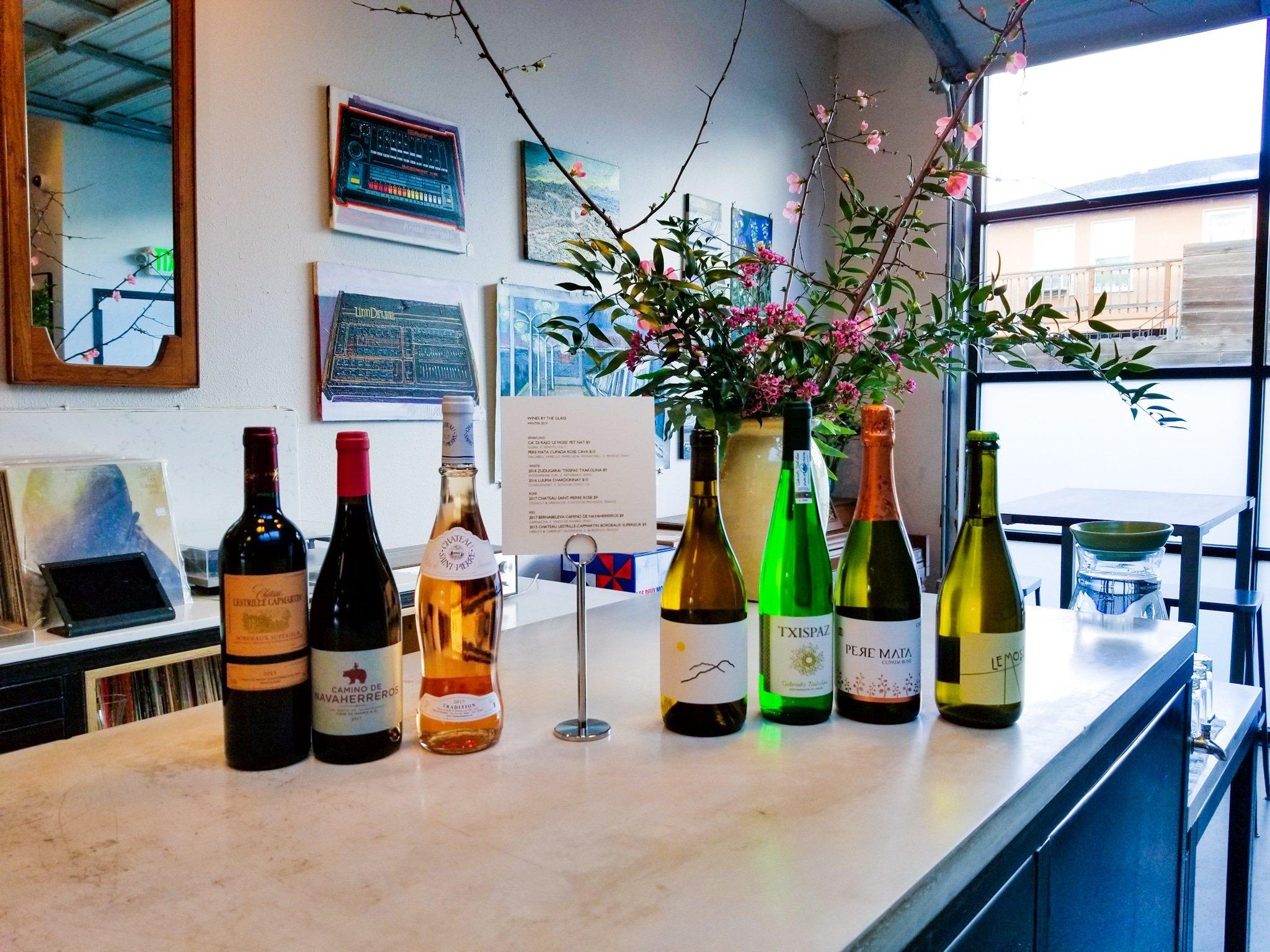 Oakland Yard Wine Shop Tasting Bar