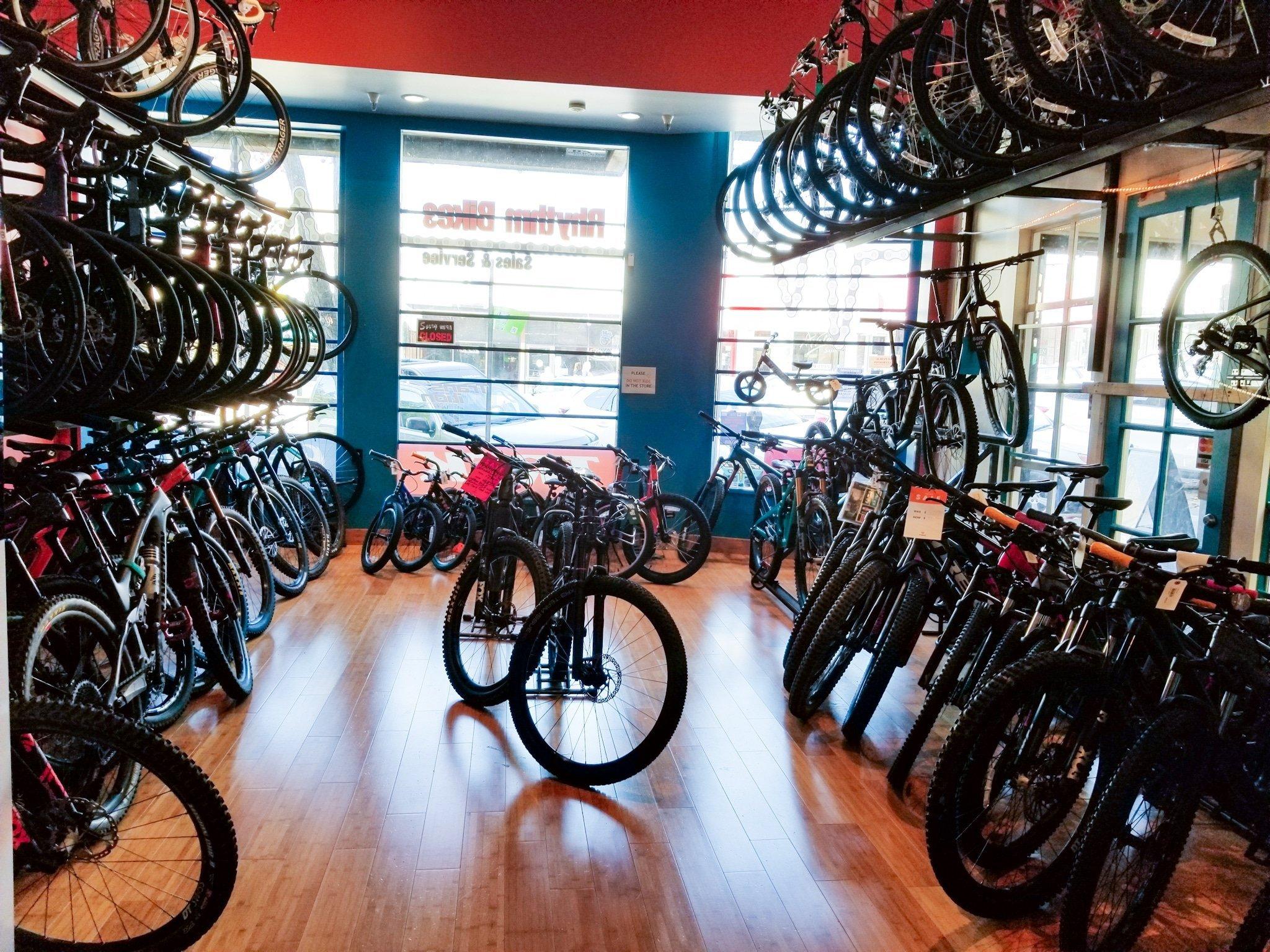 Rhythm Bikes in Montclair Village, Oakland CA