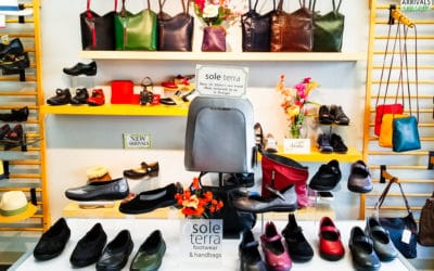Shoes on Solano: Walking in Shop Local Shoes