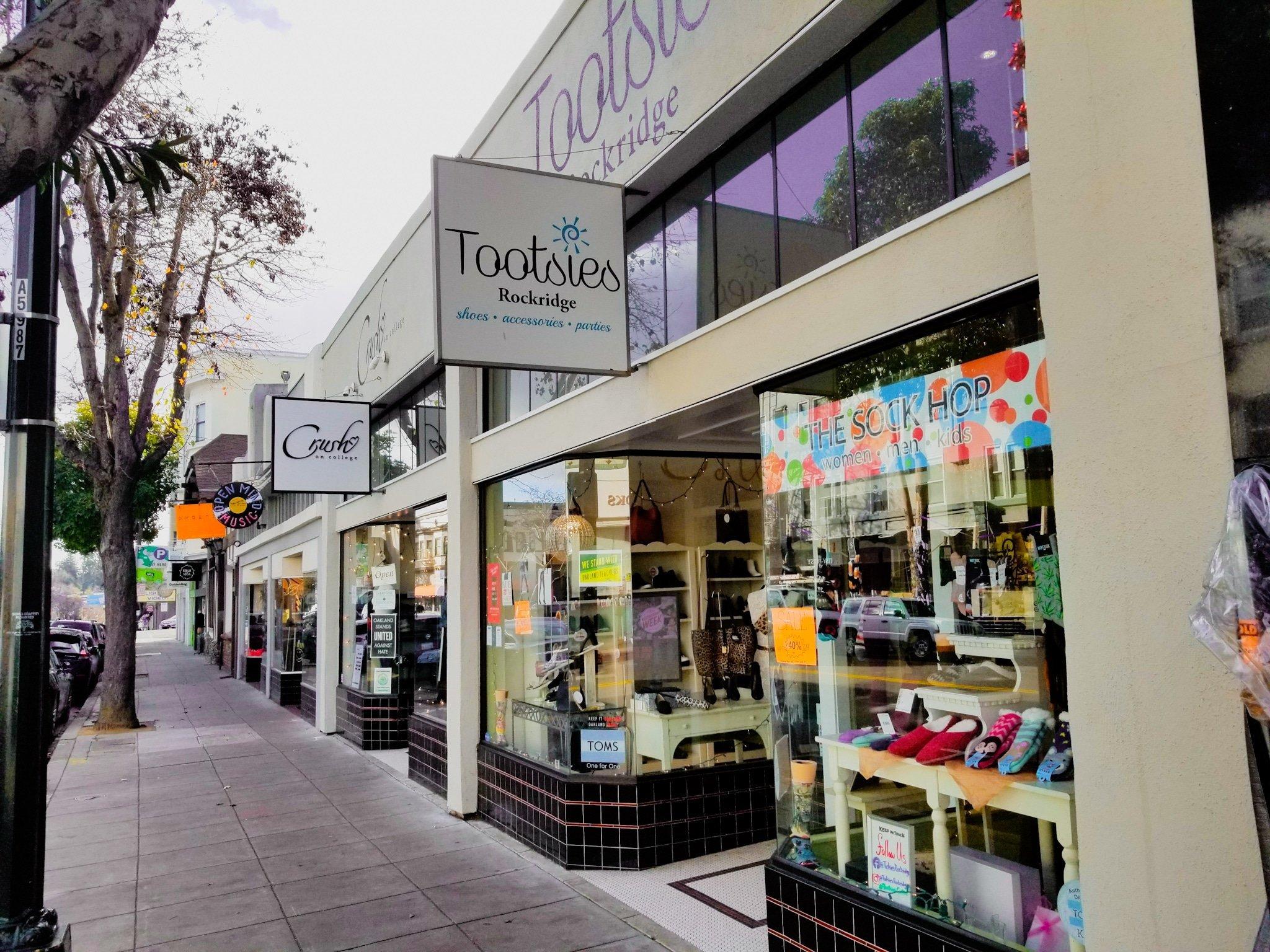 Tootsies in Rockridge, Oakland CA