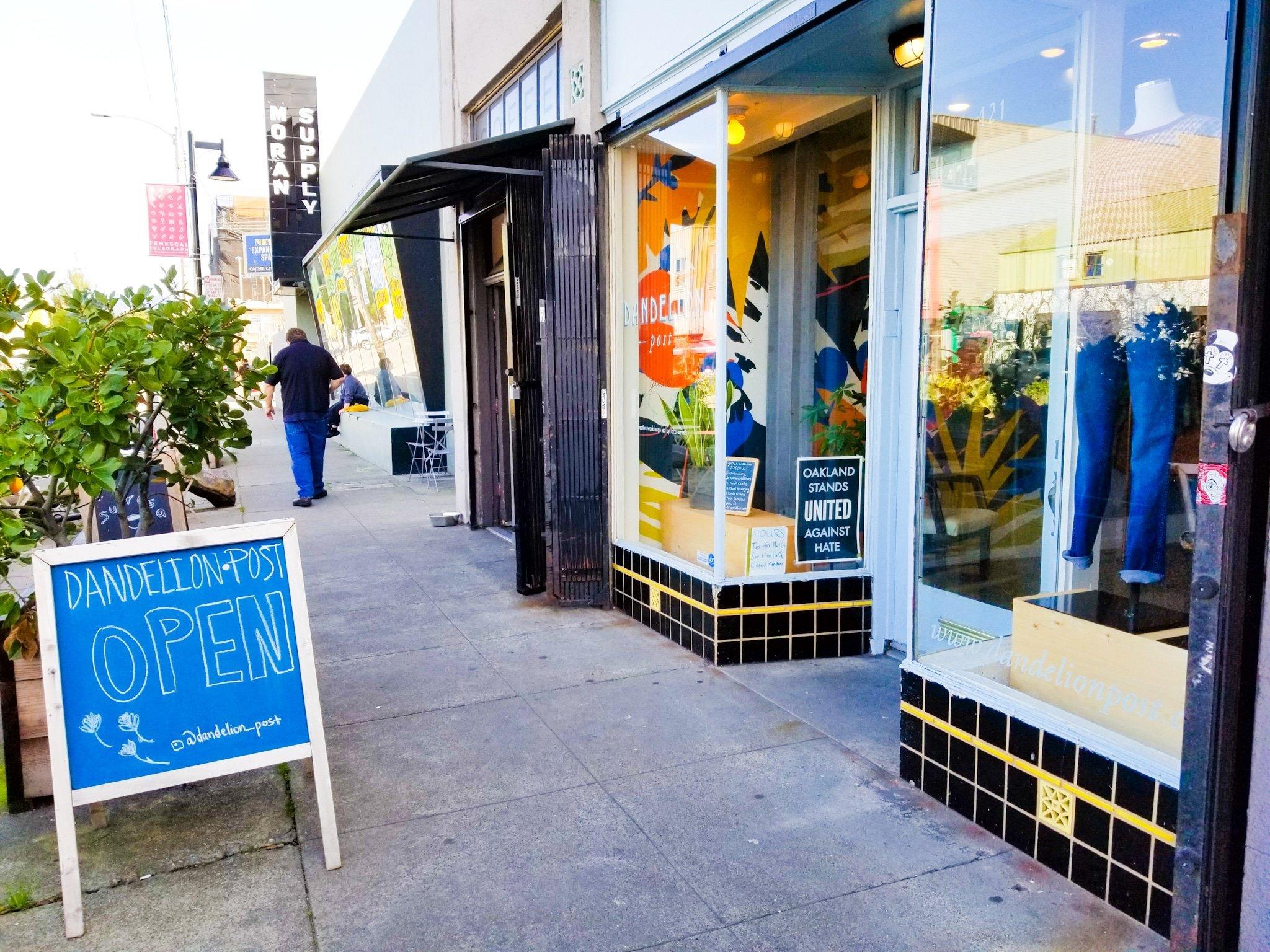 Dandelion Post in Oakland, California