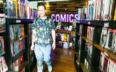 Cape & Cowl Comics: A Shop Local Superhero