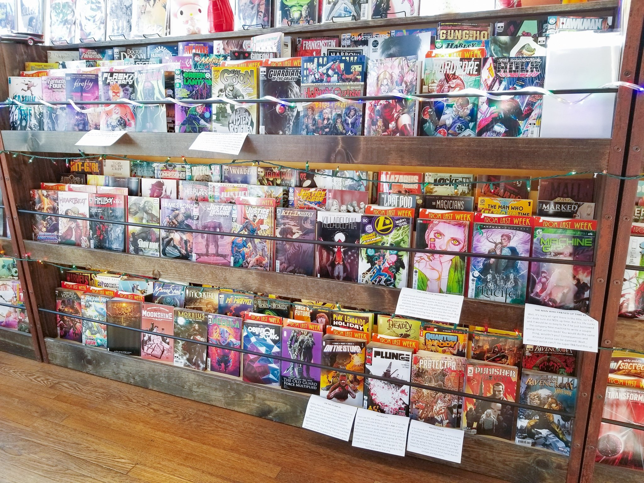 Cape & Cowl Comics in Downtown Oakland, California